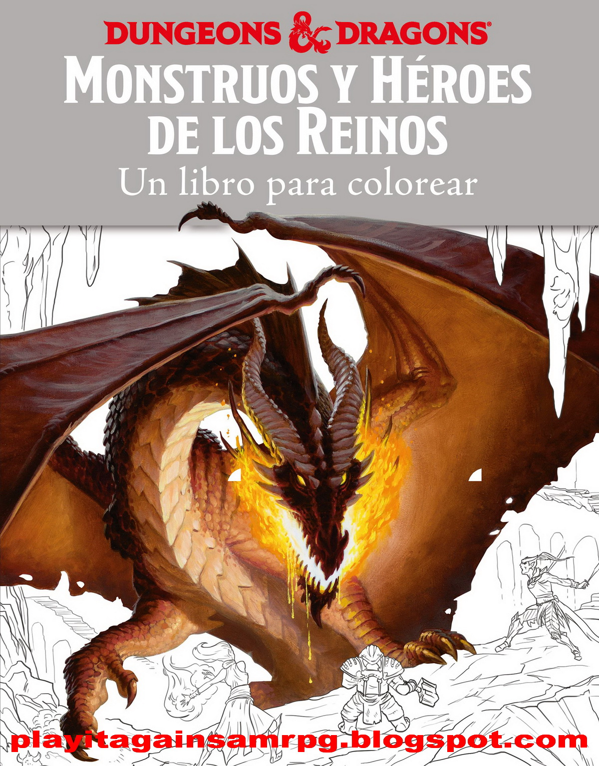 Cinco Reinos Libro Play It Again Sam Pinta Y Colorea Con Dungeons And Dragons