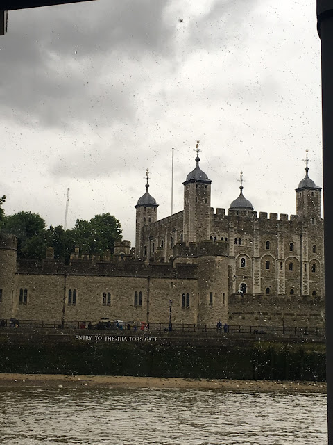 Tower of London as seen from City Cruises River Rover boat