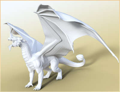 HFS Legendary Shapes HD for Daz Dragon 3