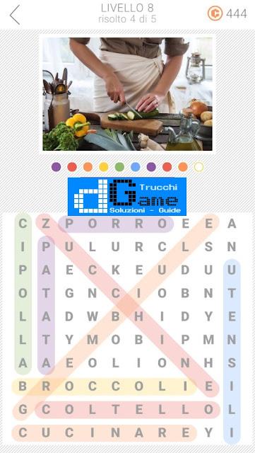 10x10 Crucipuzzle soluzione pacchetto 8 livelli (1-5)