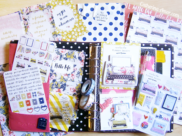 Planner Society Kit January 2016