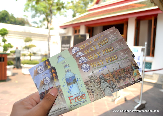 tickets to Wat Pho