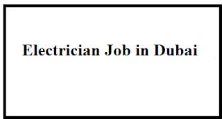 Electrician Job in Dubai