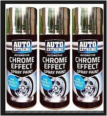 spray chrome paint type