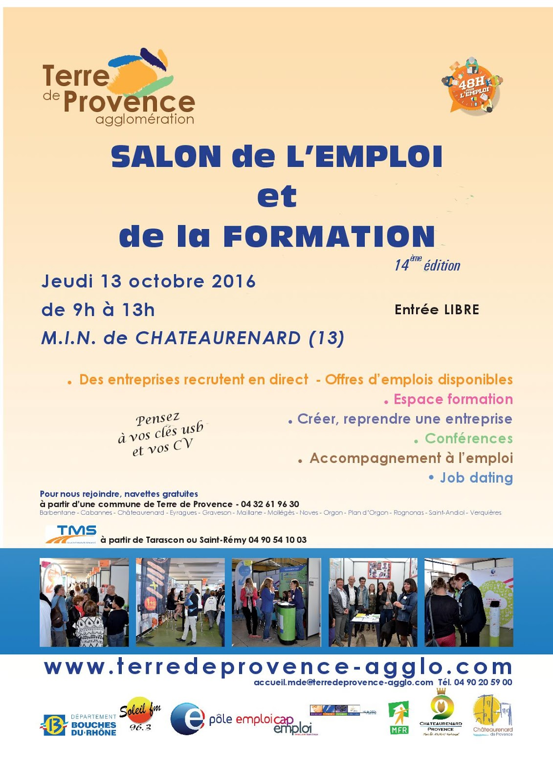 Le journal d 39 eyragues salon de l 39 emploi et de la formation - Salon de la formation ...