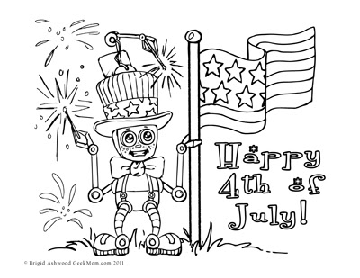 Independence Day Printable Booklet