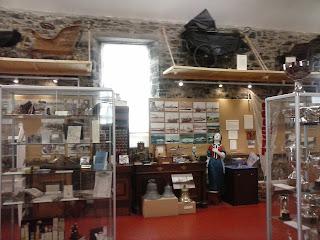 predmety vystavené v múzeu