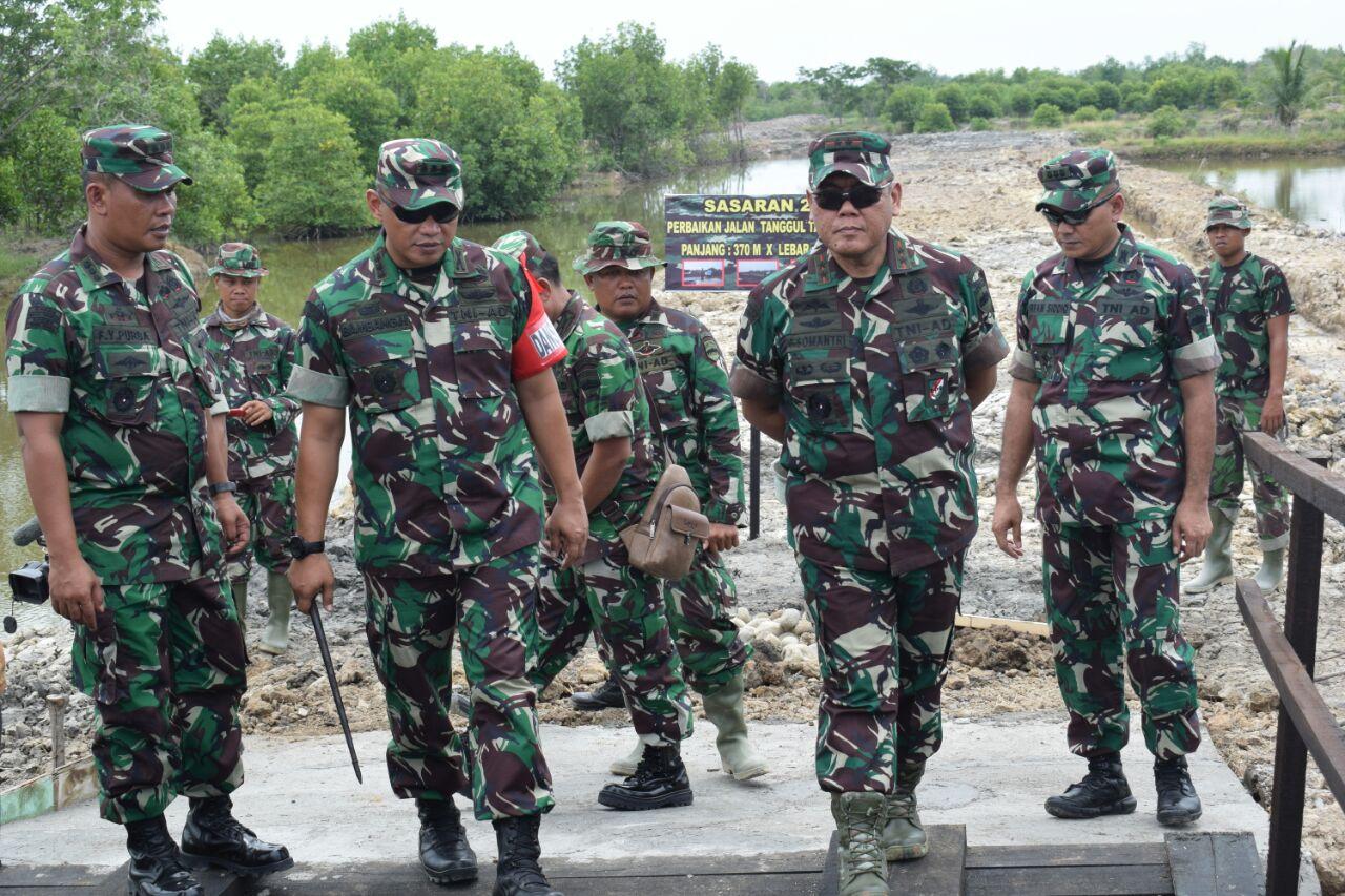 Hasil gambar untuk Kolonel di Program TMMD belawan