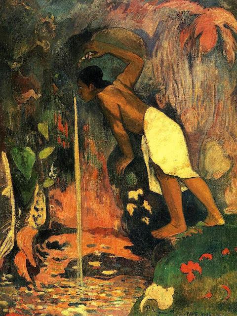 Paul Gauguin - Agua misteriosa - 1853