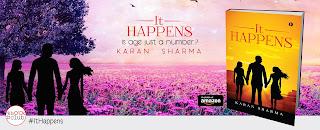 Blog Tour: It Happens by Karan Sharma