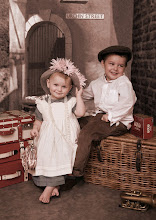 2 of my gorgeous grandchildren Caid and Lexi