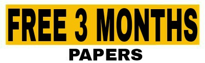 Free 3 Months Papers