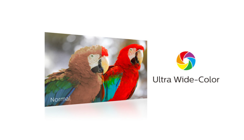 Ultra Wide-Color technology