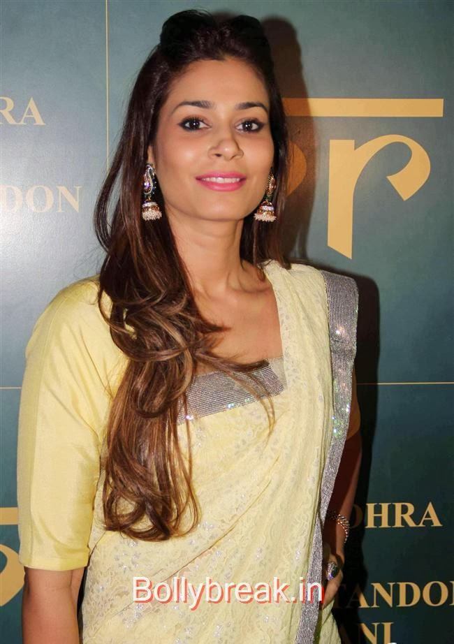 Shaheen Abbas, RR Jewellery Line Launch