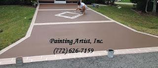 driveway painting Port St Lucie fl