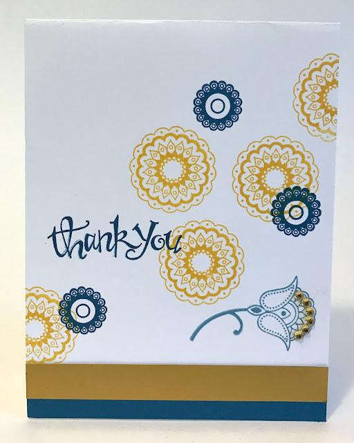 handmade thank you card lisa fulmer