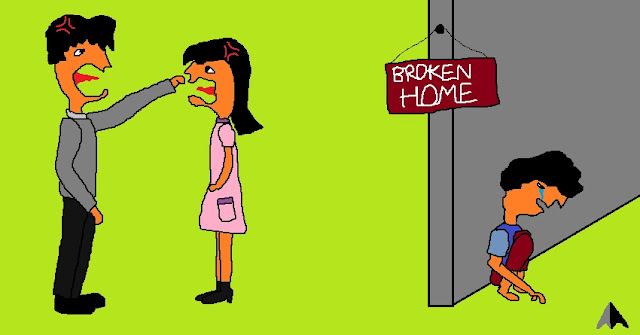 broken home family