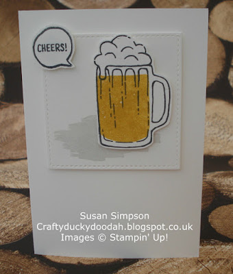 Craftyduckydoodah!, May 2017 Coffee & Cards Project, Mixed Drinks, Stampin' Up! UK Independent  Demonstrator Susan Simpson, Supplies available 24/7 from my online store,