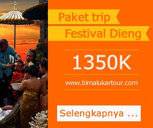 Paket wisata dieng culture festival