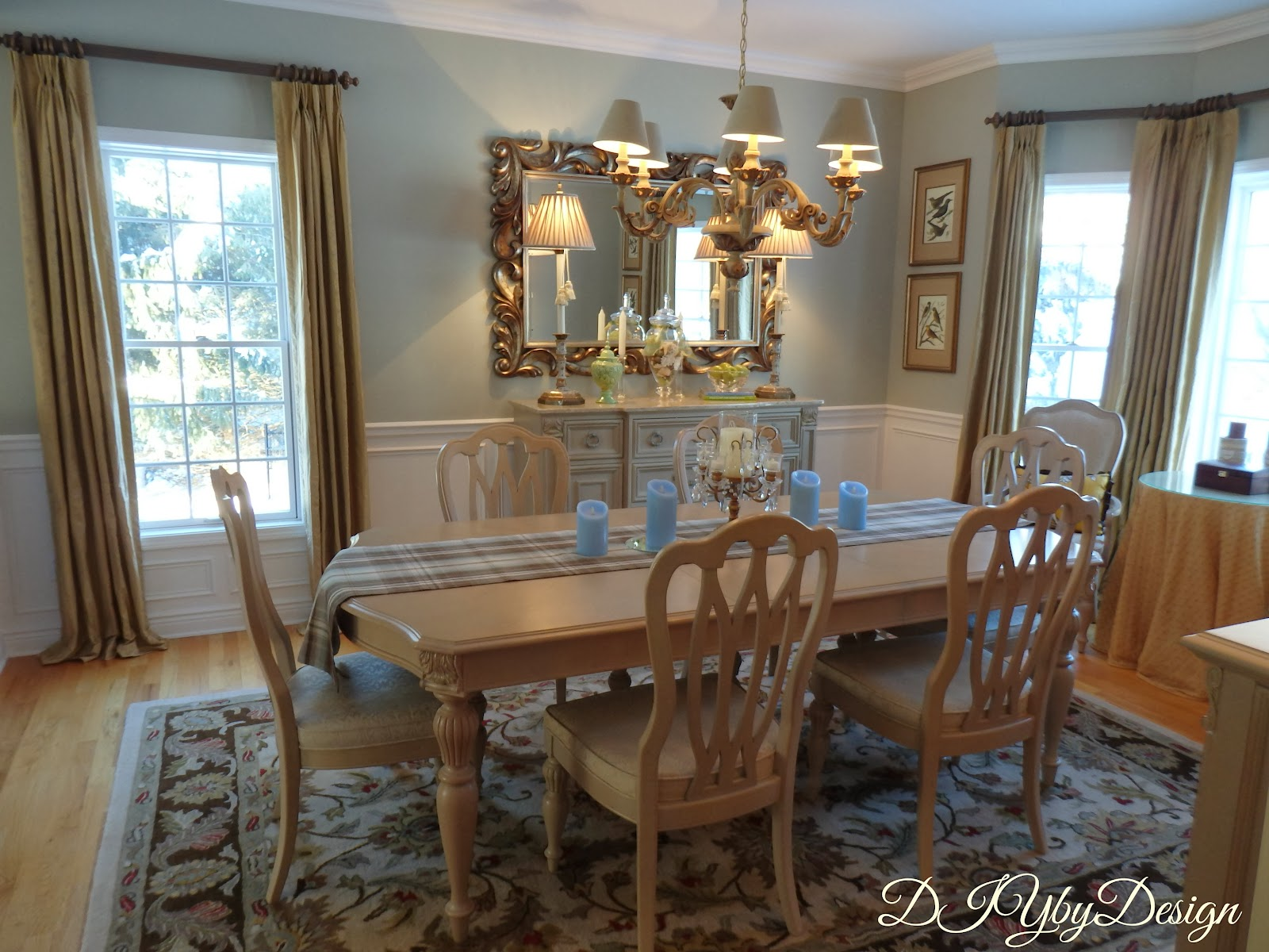 Dining Room Makeover Diy By Design Lighter And Brighter Dining Room Reveal