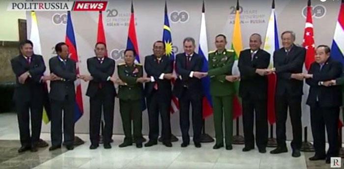 Pertemuan informal Menteri Pertahanan Federasi Rusia dan ASEAN, di Moskow