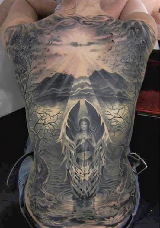 Man Page - Entertainment For Men: 20 Amazing Tattoos