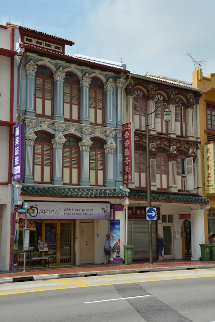 Chinatown Singapore decorations