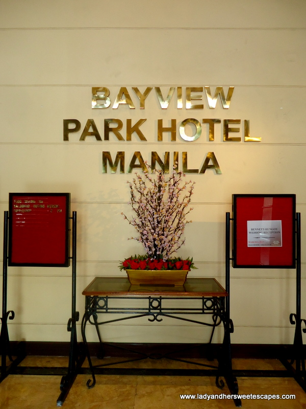 Overnight Stay In Bayview Park Hotel Manila Lady Her
