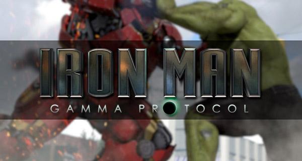 cortometraje Iron Man Gamma Protocol