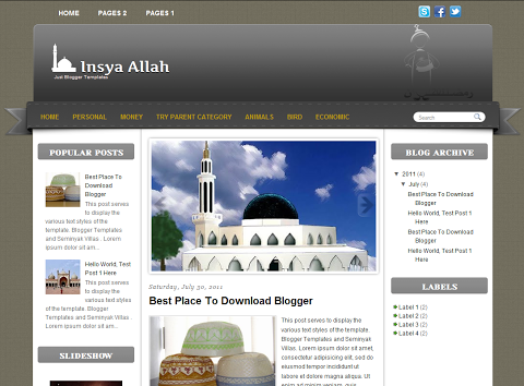 insya-allah-blogger-theme-template
