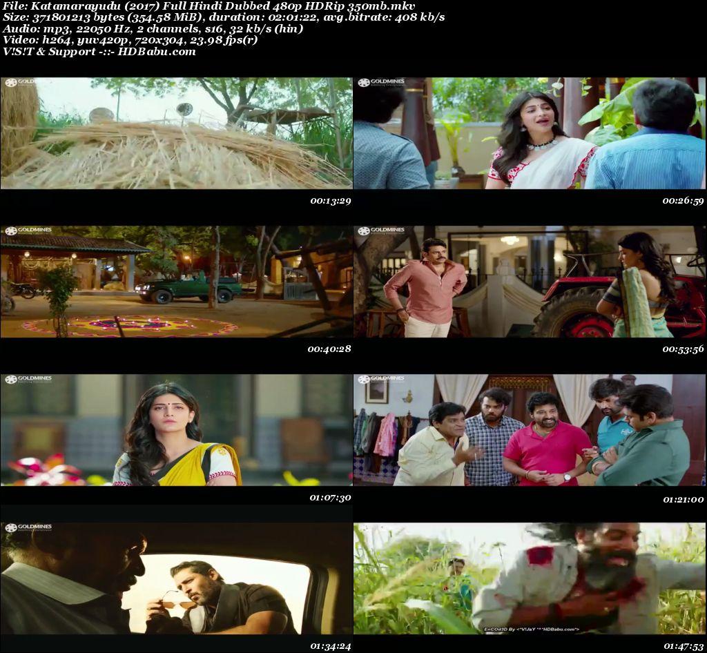 Katamarayudu (2017) Full Hindi Dubbed 480p HDRip 350mb Screenshot