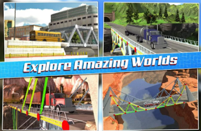 Fitur Bridge Construction Simulator v1.0.3 Apk Android