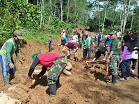 TMMD Sengkuyung Tahap I Wilayah Kodim 0702/Purbalingga Manunggal Bersama Rakyat