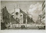 Plazza San Giovanni e Paoli by Antonio Visentini - Cityscape art prints from Hermitage Museum