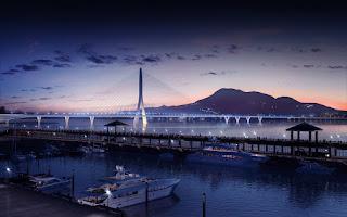 bridge-Danjiang-puente-Taipei