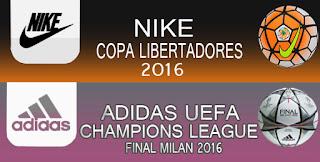 Mini Ballpack Champions + Libertadores 2016 Pes 2013