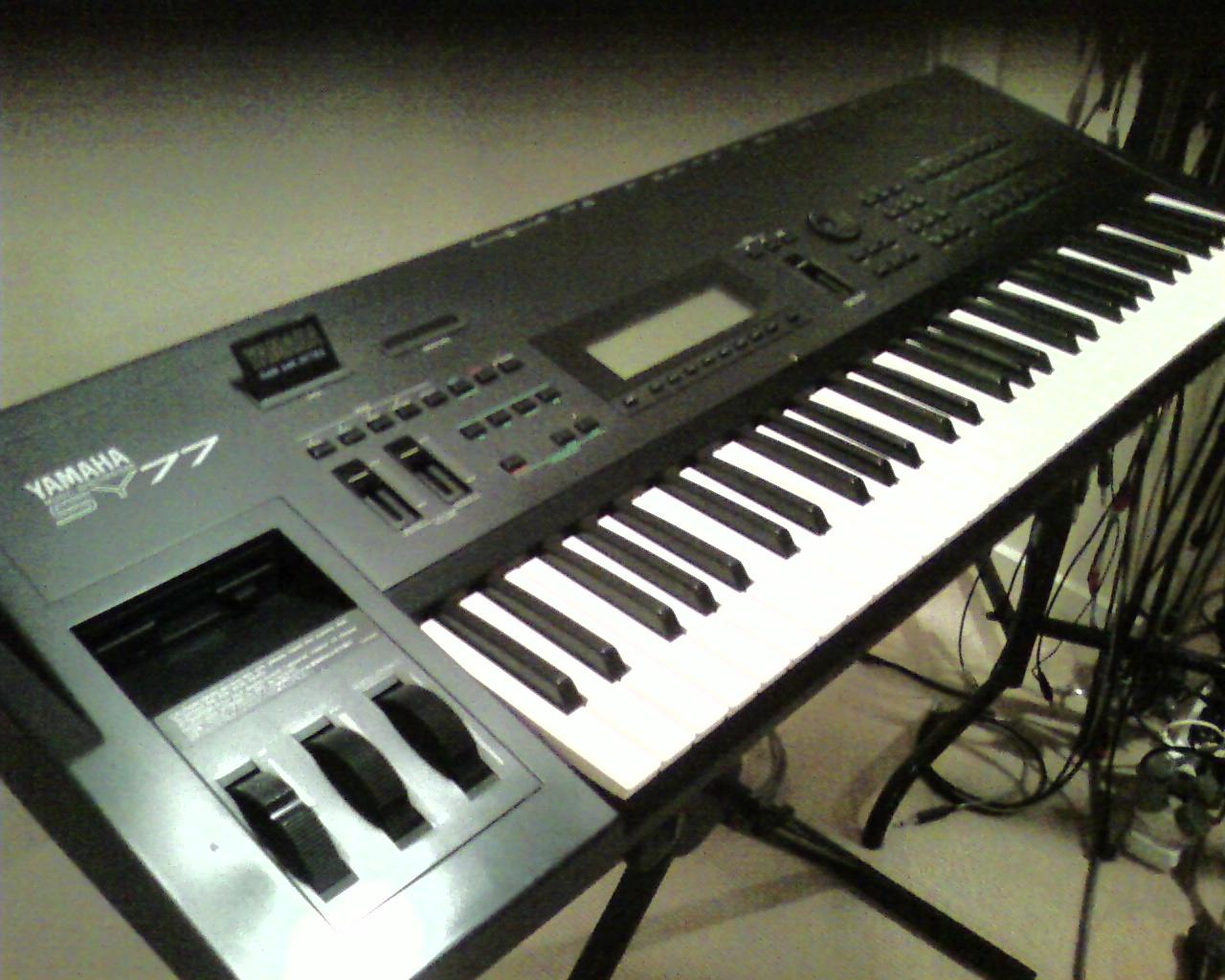 Steve's Gear & Music Blog: Keyboard/Synthesizer Timeline