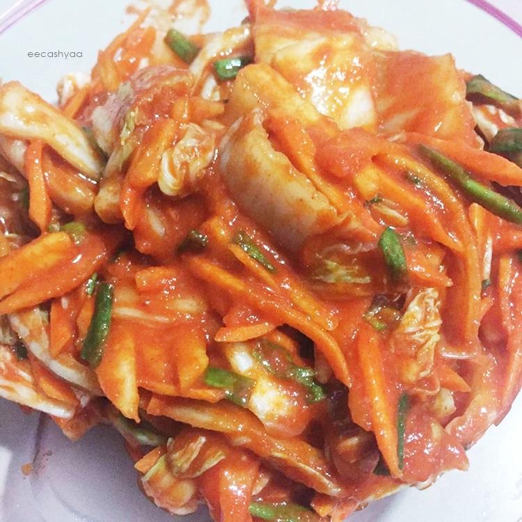 homemade kimchi, kimchi untuk awak