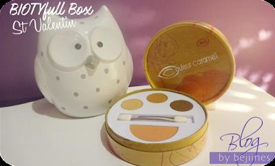 BIOTYfull Box de Février - couleur caramel bio