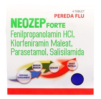 Harga Neozep F tab Terbaru 2017