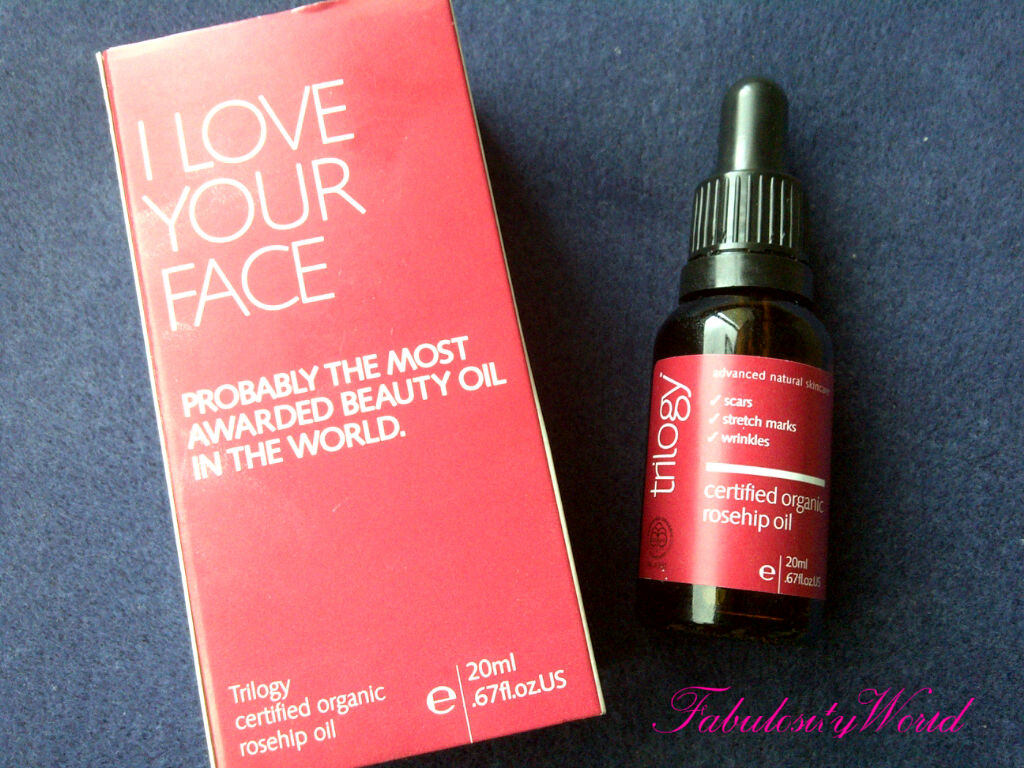 FABULOSITY WORLD*: Goodness of Trilogy Rosehip Oil Reviews