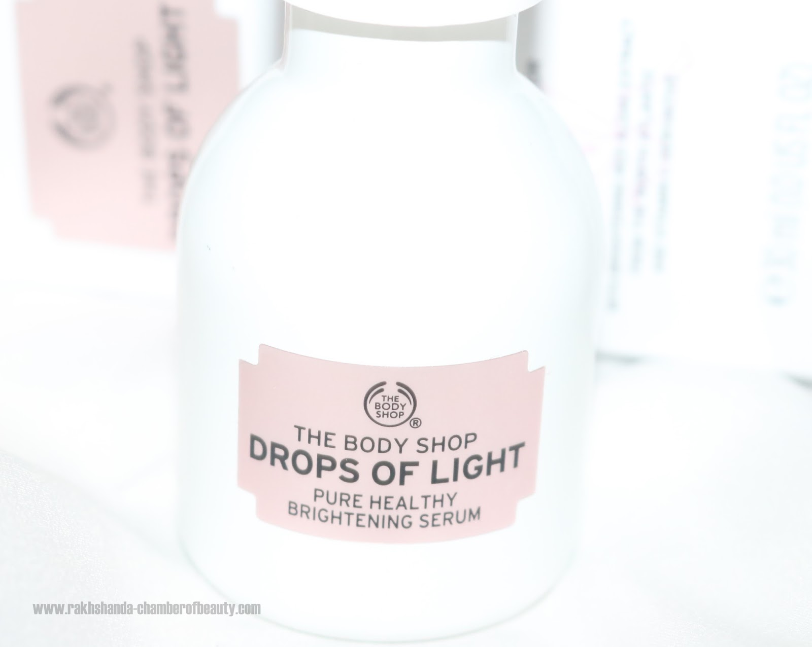 7c1e0286301 The Body Shop Drops Of Light™ Pure Healthy Brightening Serum review ...