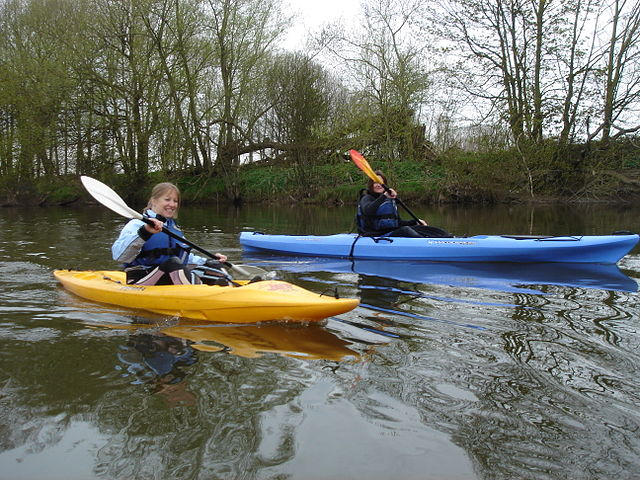 Kayaking at the Forest of the Dean