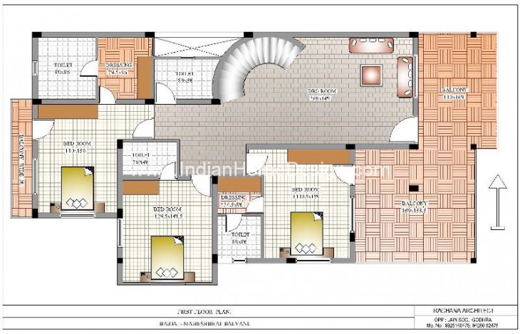 D House Plans from The House Designer Sanjay Doshi RACHANA    Here is New D House Plans from The House Designer Sanjay Doshi RACHANA ARCHITECT