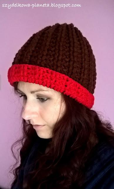 szydełkowa czapka