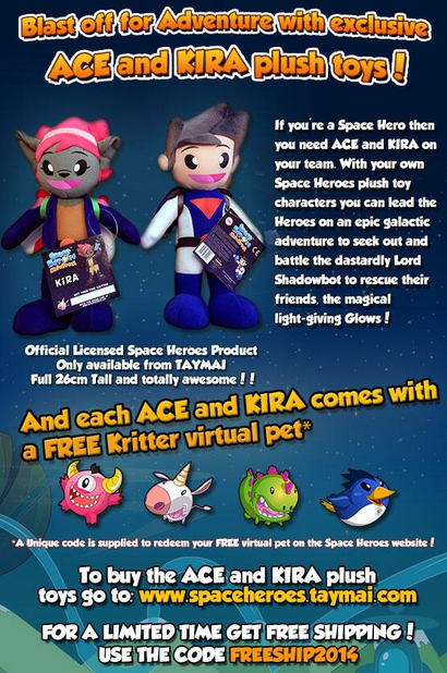 Obtain your own Space Heroes Character