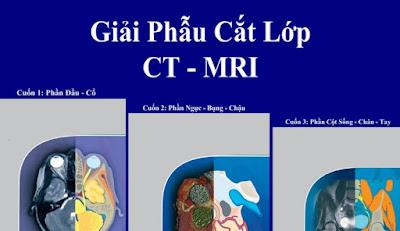 Giải phẫu cắt lớp CT-MRI tiếng Việt, full bộ 3 cuốn