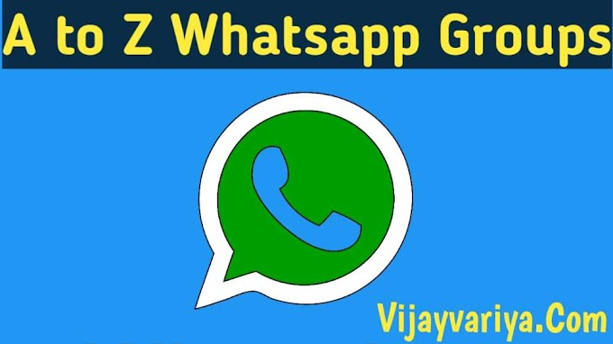 [Letest] A to Z Whatsapp Groups Best List Of Whatsapp Group Links