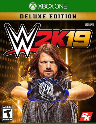 Wwe 2k19 Game Cover Xbox One Deluxe