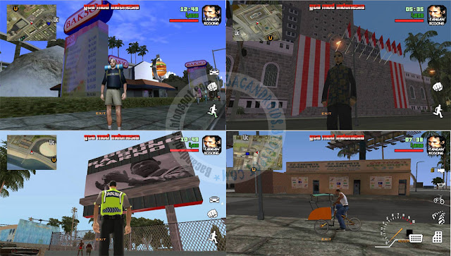 GTA SA Mod GTA Indonesia Apk Data Full Android Terbaru